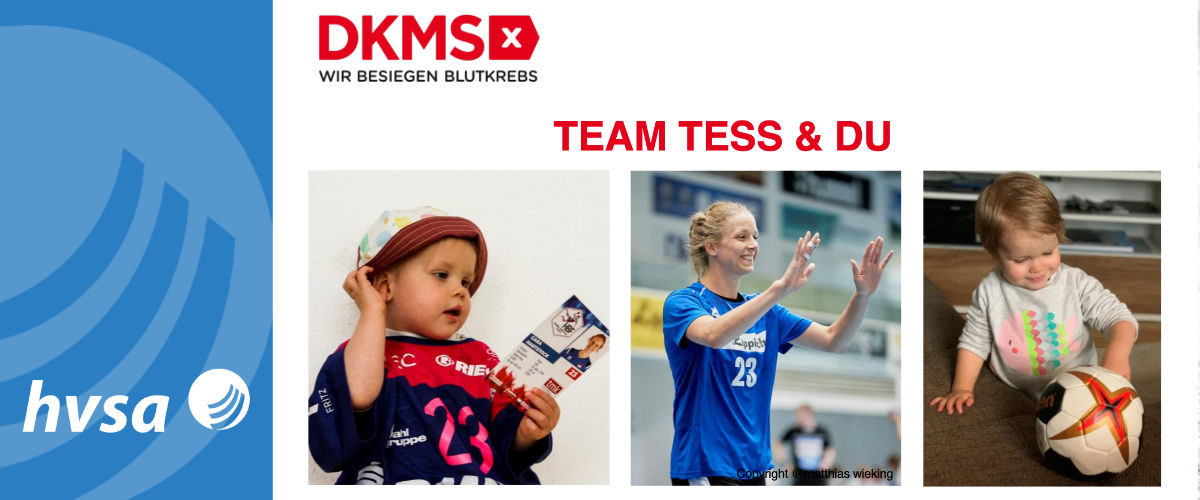 TEAM TESS & DU – Handballnachwuchs sucht Lebensretter:in
